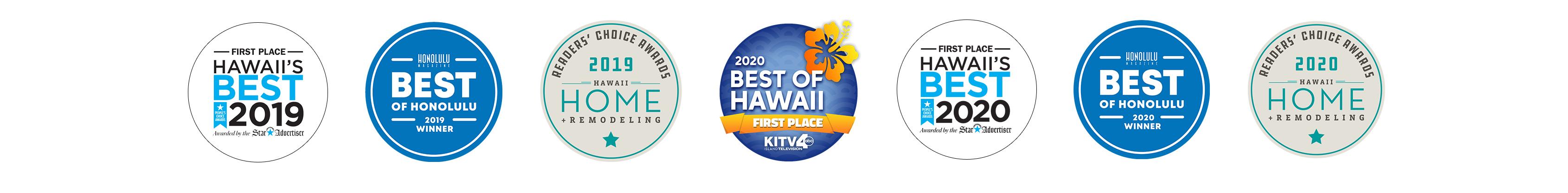 Hawaii's Best Logos