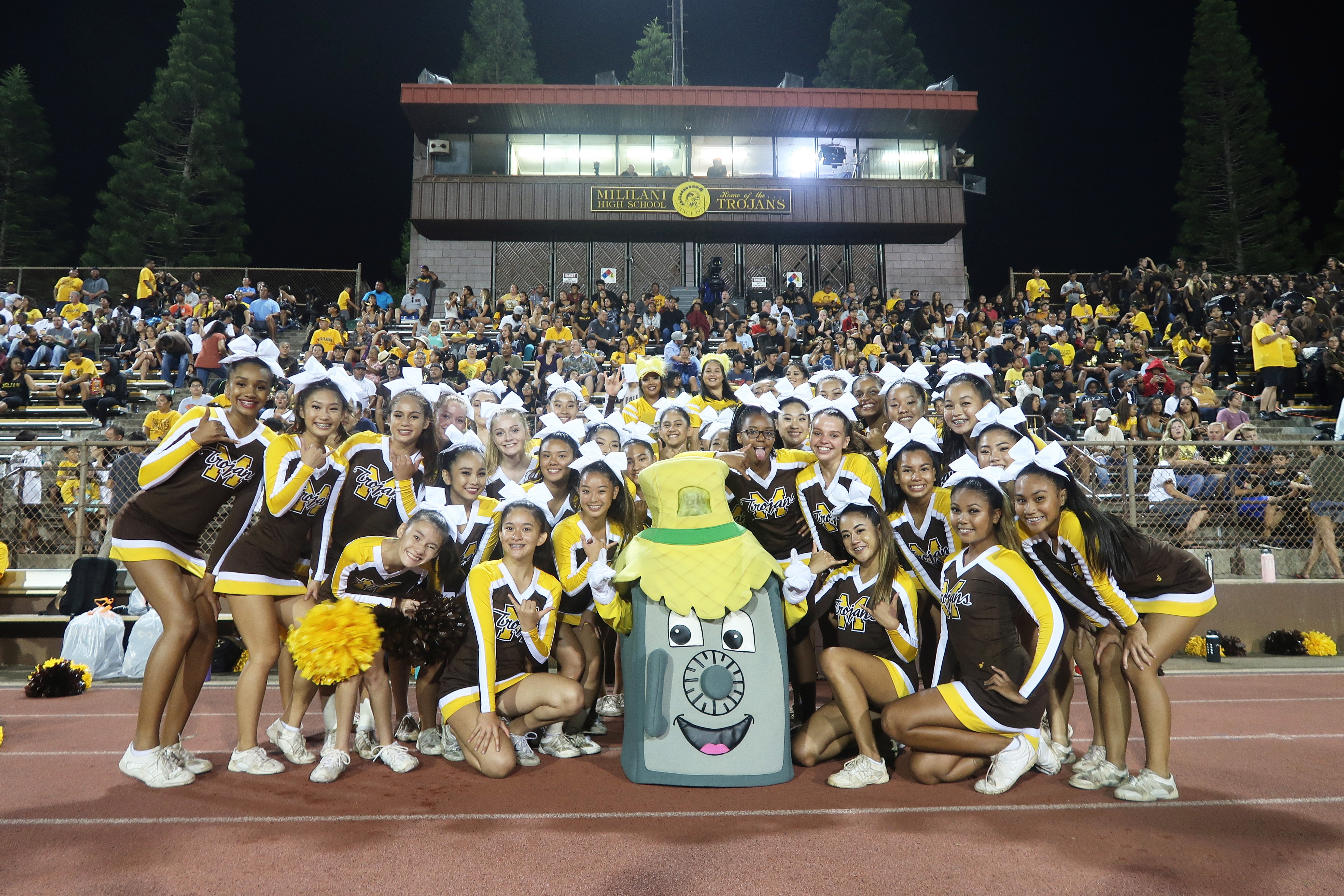 Mililani Cheerleaders