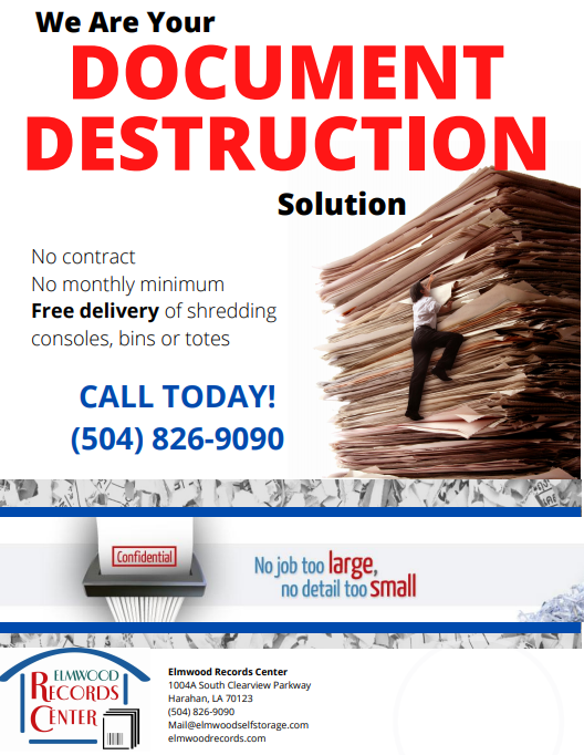 Document Destruction Info