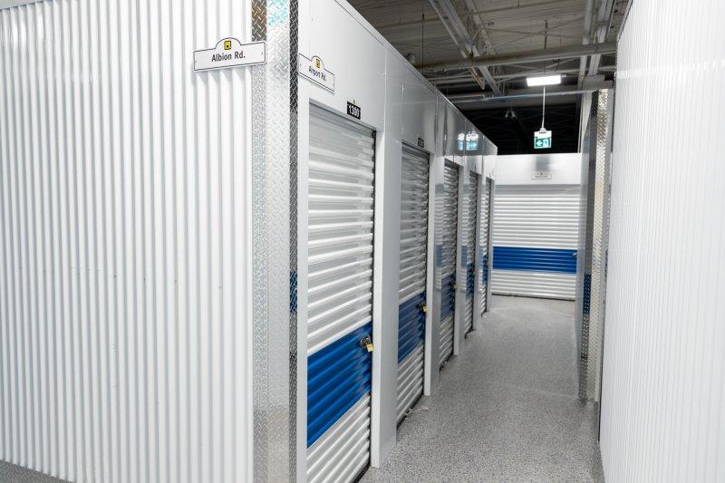 q self storage interior