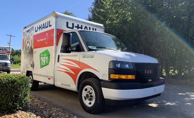 Conway U Storage Uhaul Rental Truck