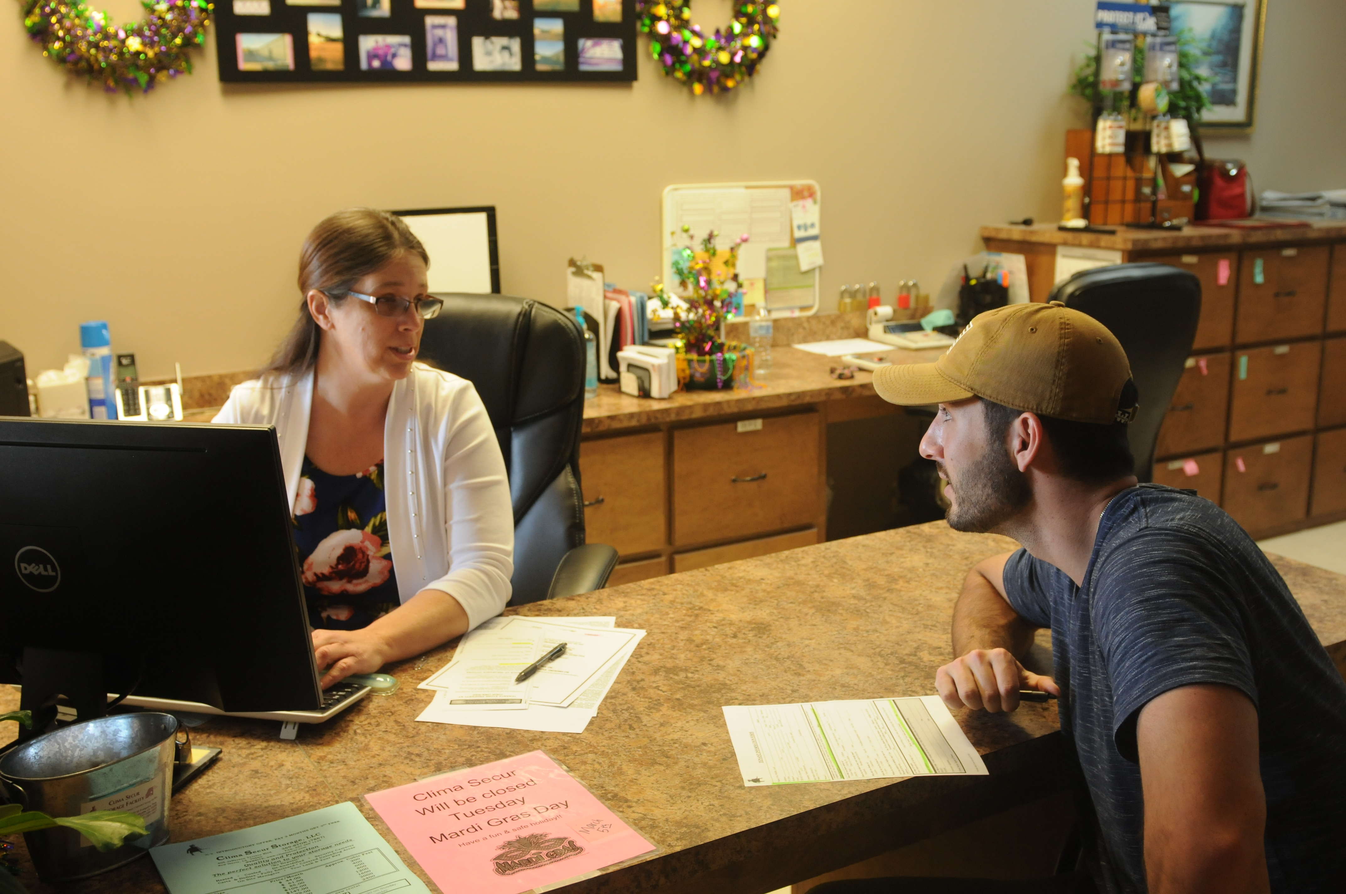 Friendly on-site managers to assist you in New Iberia, LA