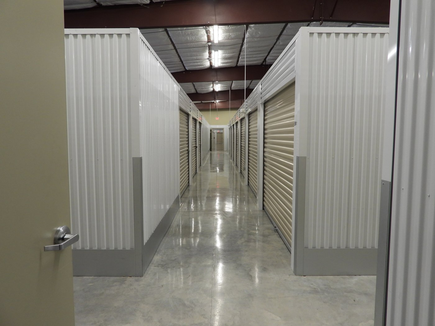 Inside storage units in Lafayette, Louisiana
