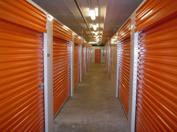 Interior hall of storage facility