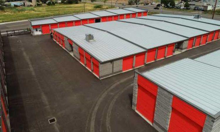Aerial Shot of Wildcat Storage Units Layton, UT