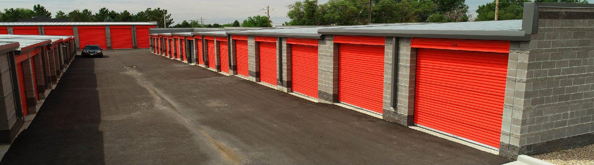 Drive Up Storage Units at Wildcat Storage