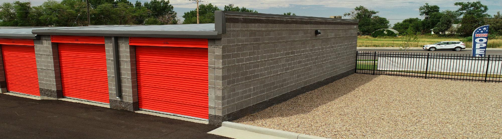 roll-up door access to units layton, ut