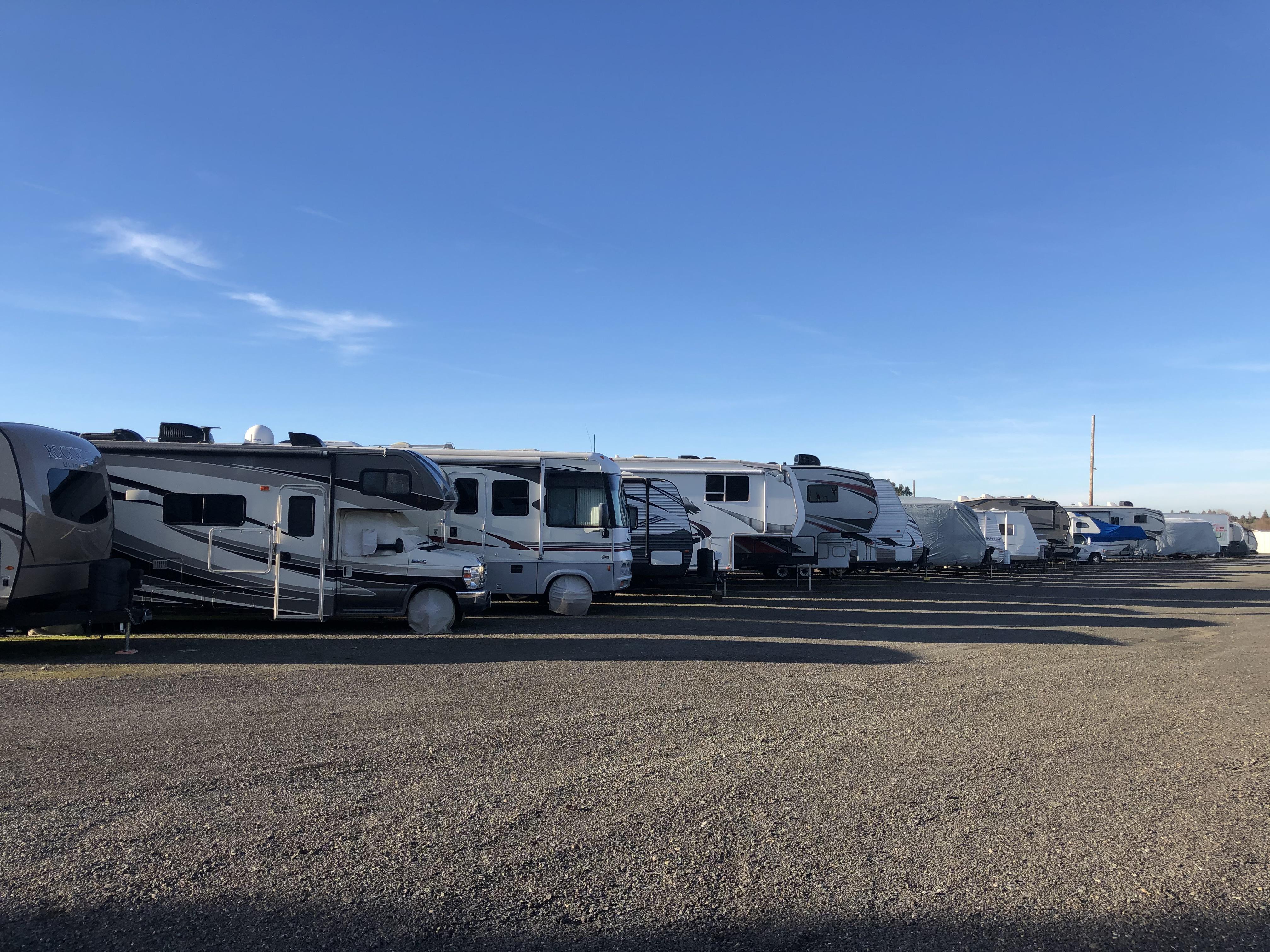 rv/boat/car parking sacramento area