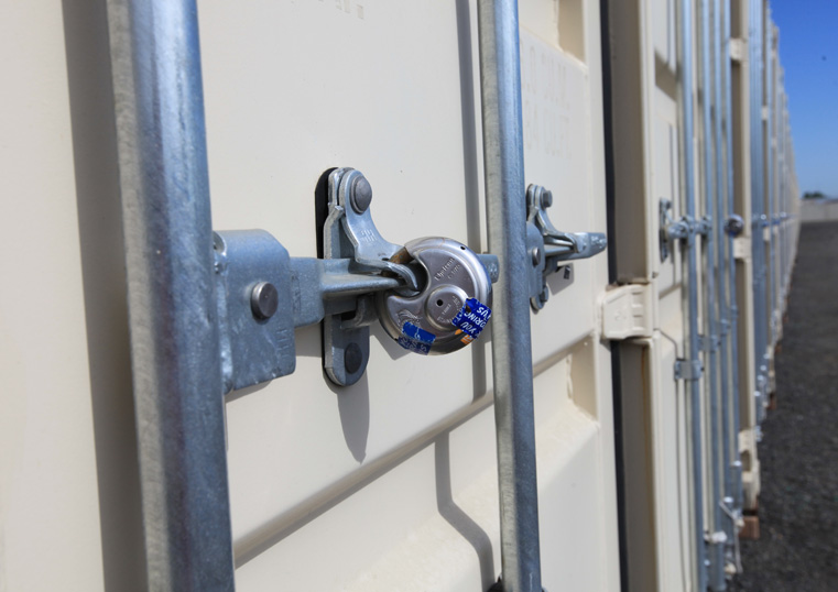 locked storage containers for security