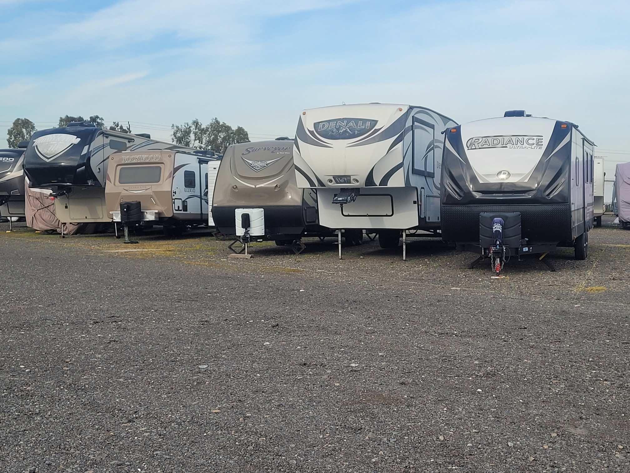 rv parking in north highlands, ca