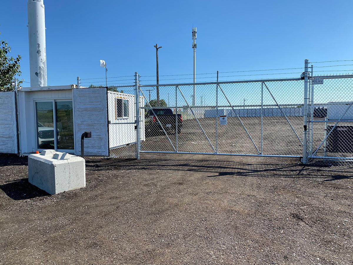 Fenced & Gated Storage in Calgary, AB