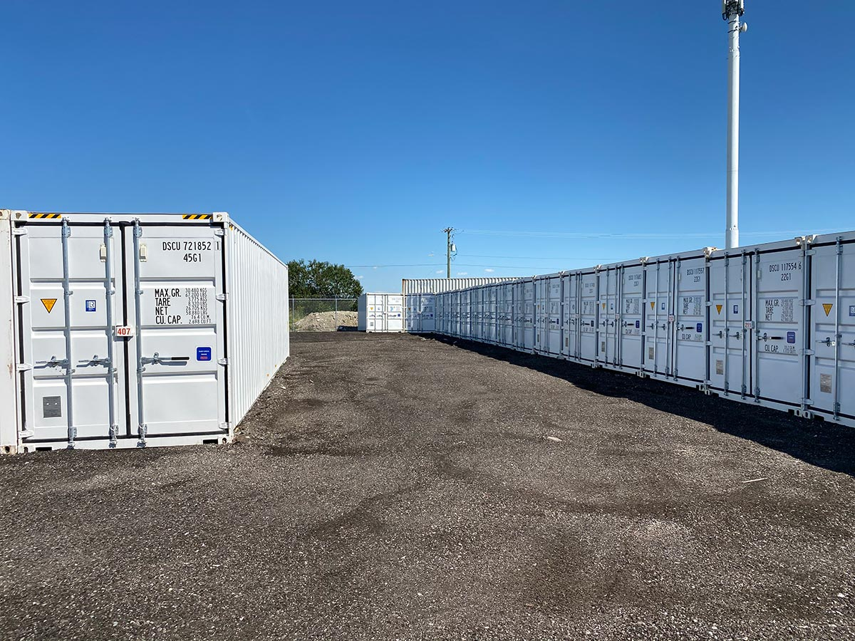 Contractor Storage in Calgary, AB