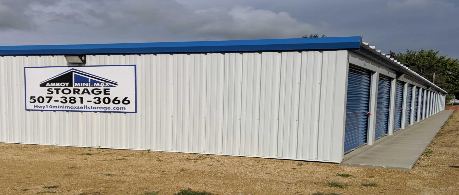 Drive up storage units in Amboy, MN