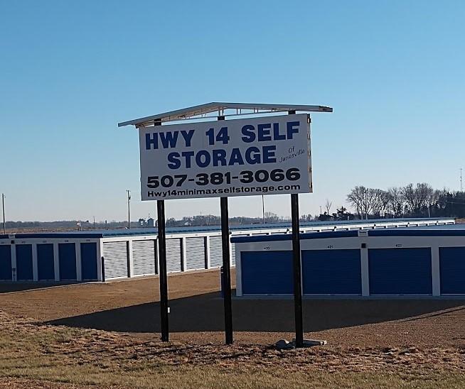 Janesville, MN drive up storage units