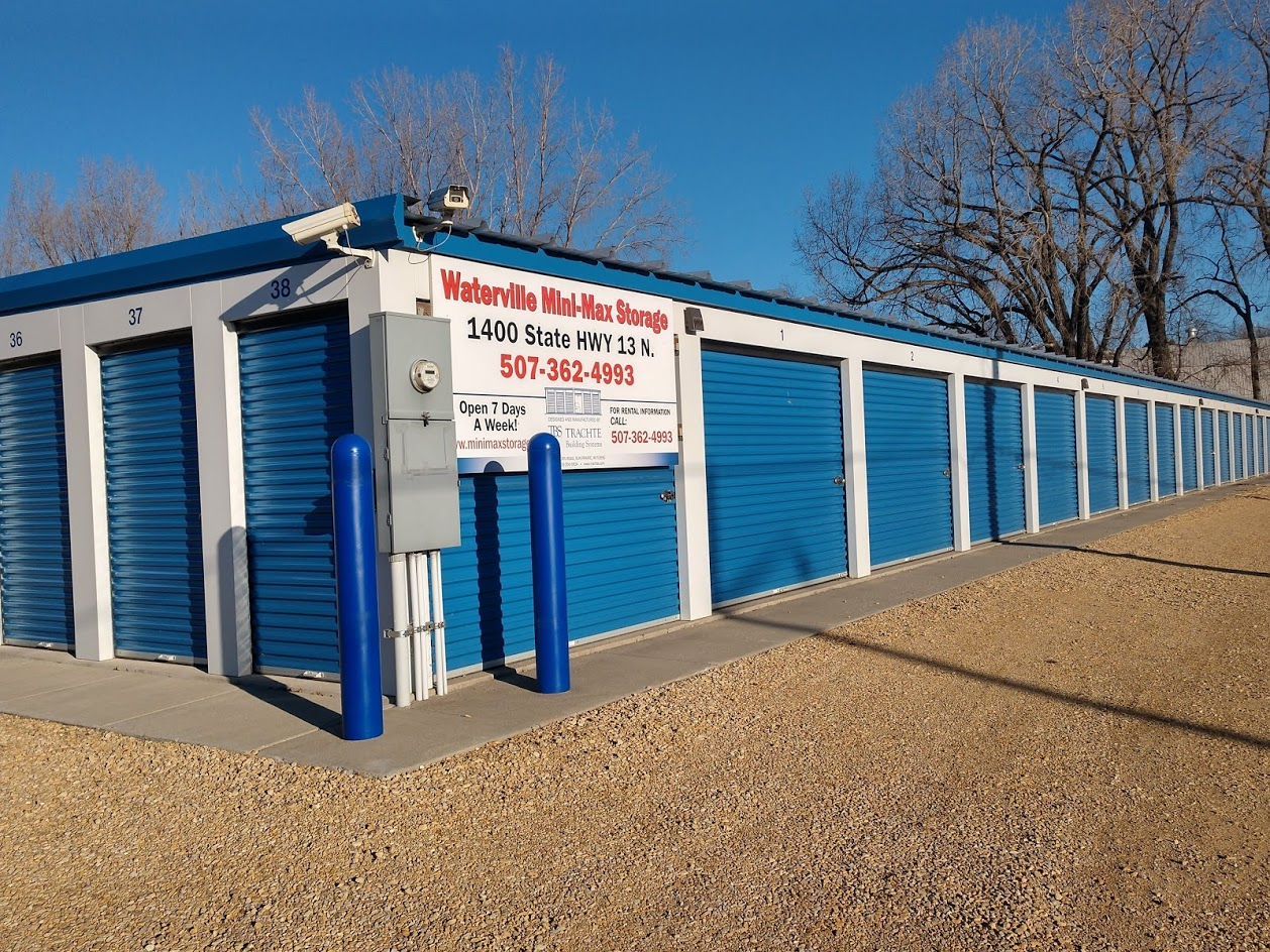 Drive up storage units in Waterville, MN