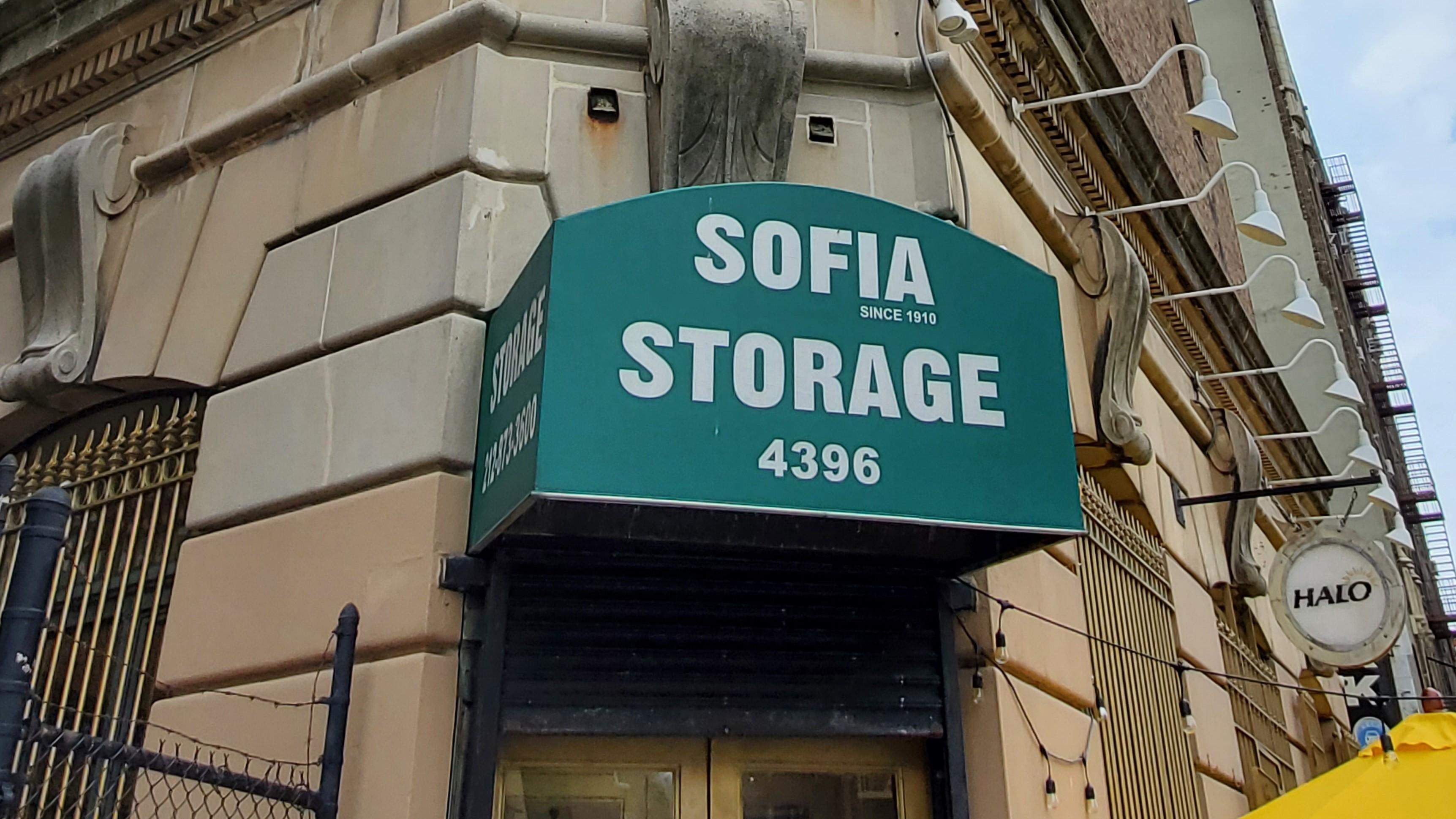 front entrance to sofia storage center
