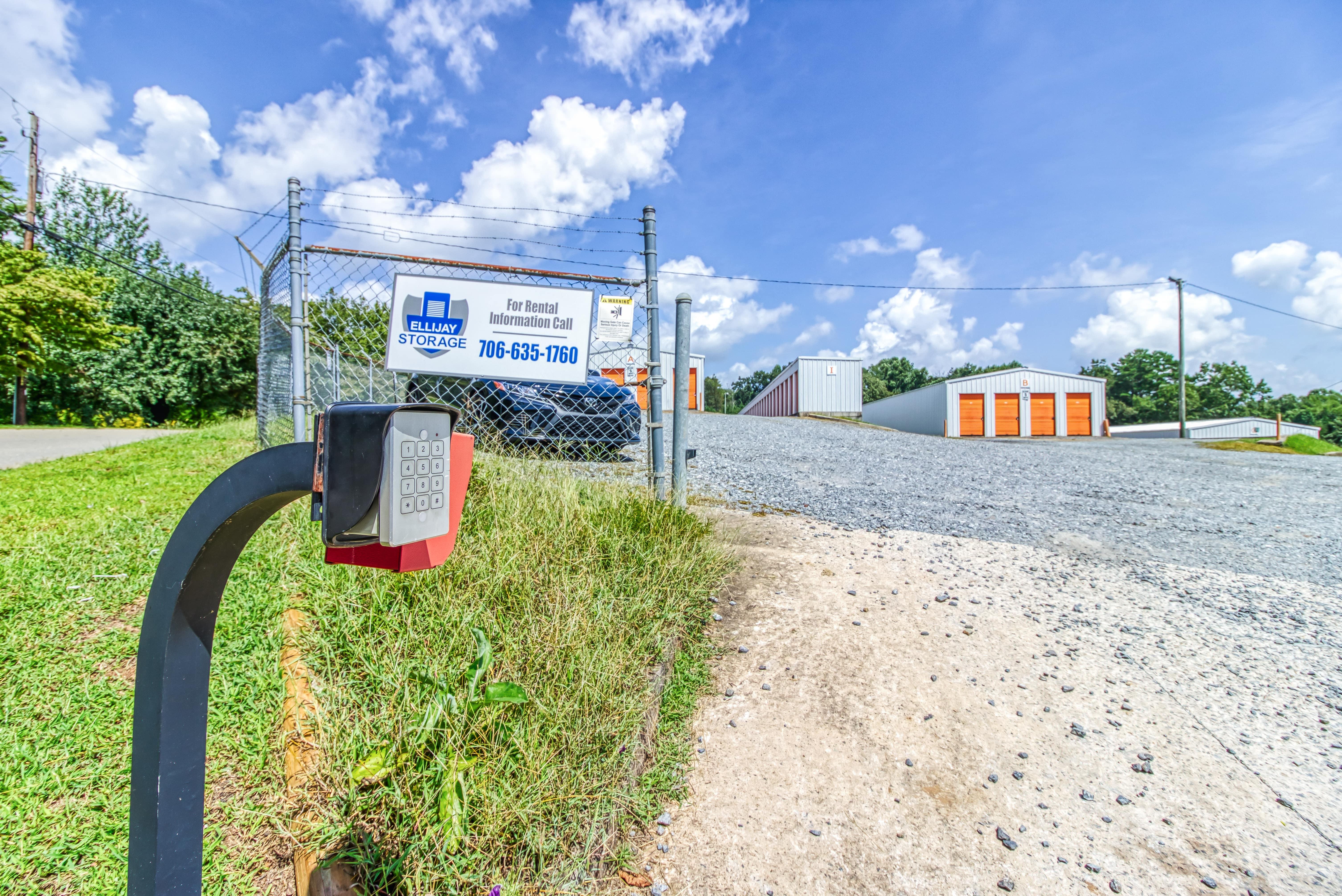 Gated Self Storage in Ellijay GA