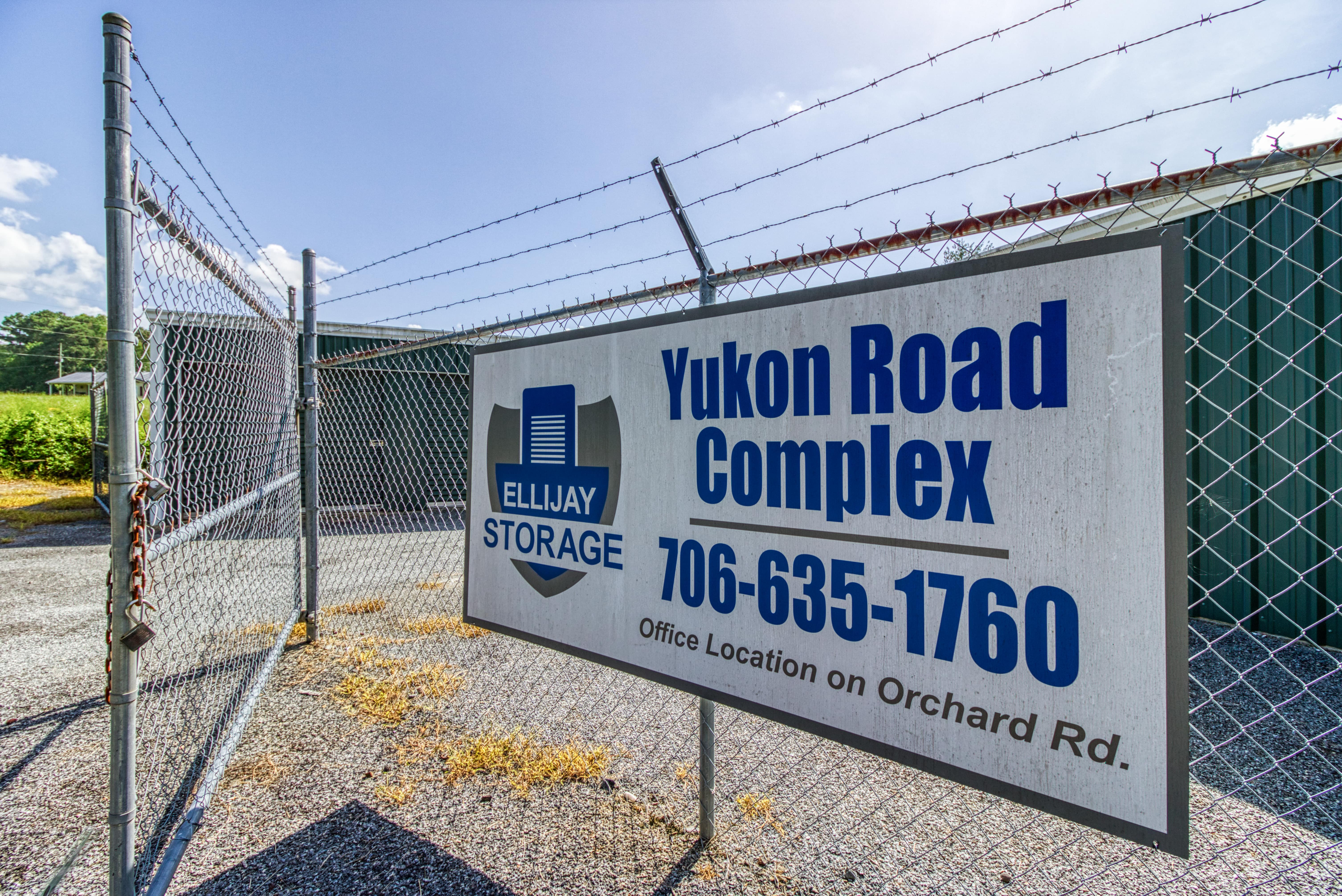 Ellijay Storage on Yukon Road