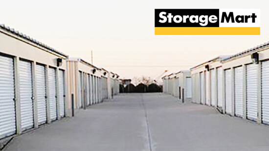 StorageMart Drive Up Units- Self Storage Units Near SW 37th and Brookside In Grimes, IA