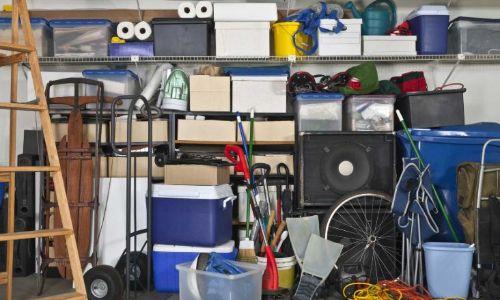 Un garage plein à craquer