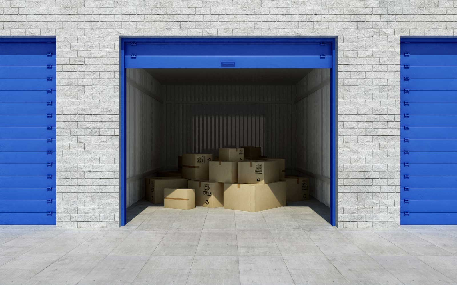 How Much Fits in a 10x10 Storage Unit  StorageMart