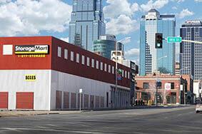 Espacios de almacenamiento asequibles en el centro de Kansas City