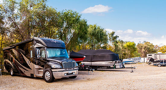 StorageMart Boat and RV Parking In Omaha, NE