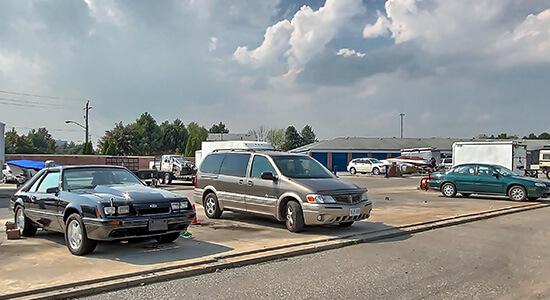 StorageMart Vehicle Parking Crown Point Storage in Omaha