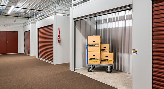 climate controlled and loading carts storage springfield mo