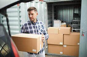 Cómo empacar una unidad de almacenamiento