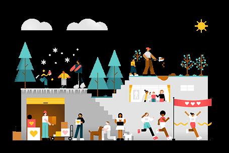 Donaciones benéficas StorageMart – Almacenando para el futuro