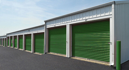 StorageMart Drive Up Units - Self Storage Units Near Range Road In Okotoks, AB