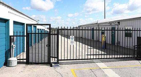 StorageMart Gated AccessCrown Point Storage in Omaha