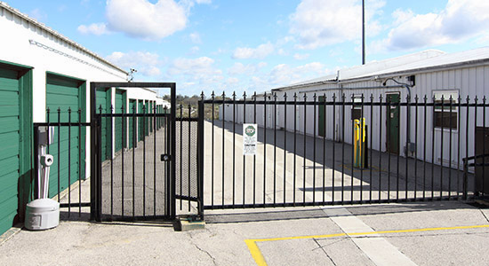 StorageMart Gated Access - Self Storage Units Near Range Road In Okotoks, AB