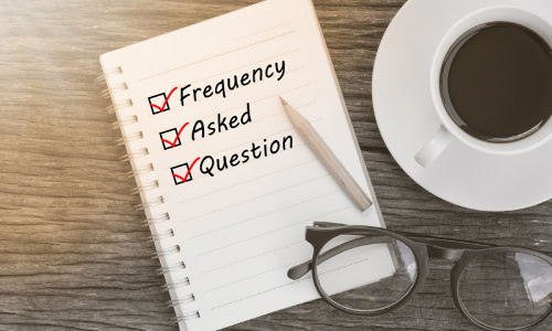 A checklist of frequently asked questions