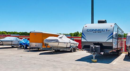 StorageMart RV and Boat Parking Crown Point Storage in Omaha