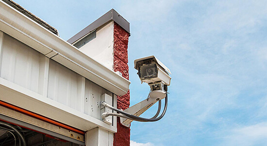 StorageMart Northeast Jones Industrial Drive Drive Up Security Camera