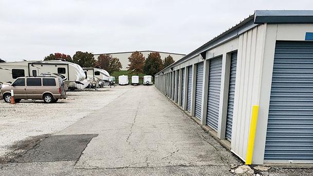 StorageMart Northeast Jones Industrial Drive Parking