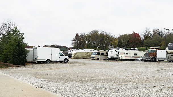 South 291 RV Parking