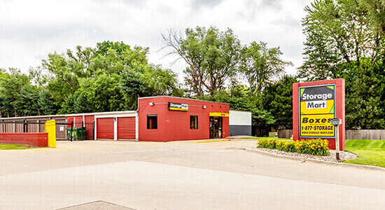 StorageMart - Self Storage Units Near Douglas Ave, just east of 100th St In Urbandale, IA