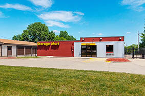 StorageMart 1054 Merle Hay Rd Johnston Office Exterior