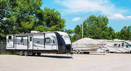 StorageMart Boat and RV Parking- Self Storage Supplies Near South Providence & Grindstone Parkway In Columbia, MO