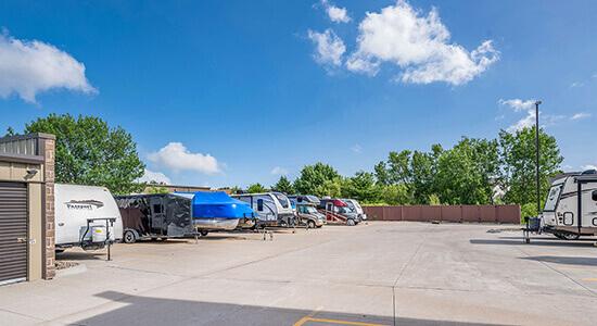 StorageMart RV and Boat Parking - Self Storage Units Near Venture Dr & Warrior Ln In Waukee, IA