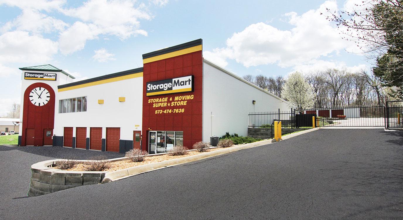 StorageMart - Self Storage Units Near I-70 & 63 In Columbia, MO