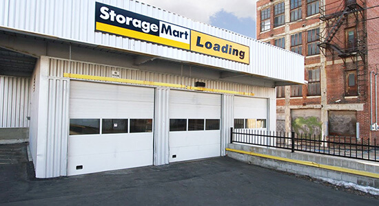 StorageMart Loading Bay exterior- Self Storage Units Near 17th & Grand In Kansas City, MO
