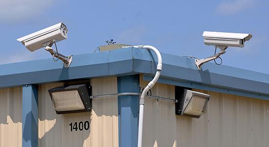 StorageMart Video Camera- Self Storage Units Near Kennedy Road in Milton, ON
