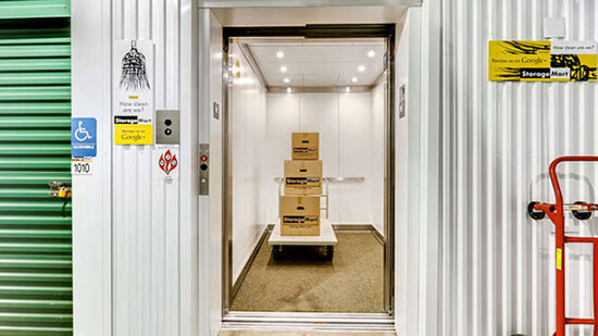 StorageMart Elevator Access- Self Storage Units Near Highway 6-East of Hill Crest In Edwards, CO