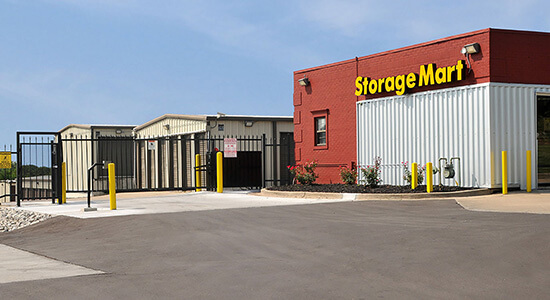 StorageMart Gated Access - Self Storage Units Near Hwy 40  In Independence, MO