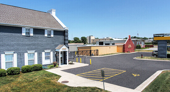 StorageMart gated access- Self Storage Units Near 67th & I-35 In Merriam, KS