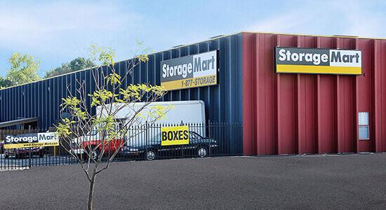 Unidades de manejo en StorageMart en State Ave, Kansas City